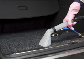 Trunk vacuum cleaning