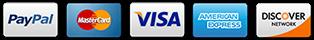 payment methods paypal, visa,mastercard