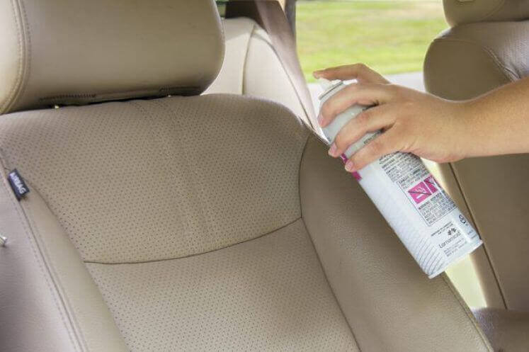 How To Remove Ink Stains From Leather Fabric Car Seats DIY