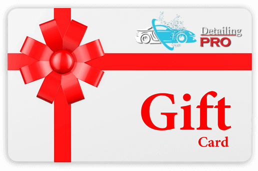 auto detailing gift card